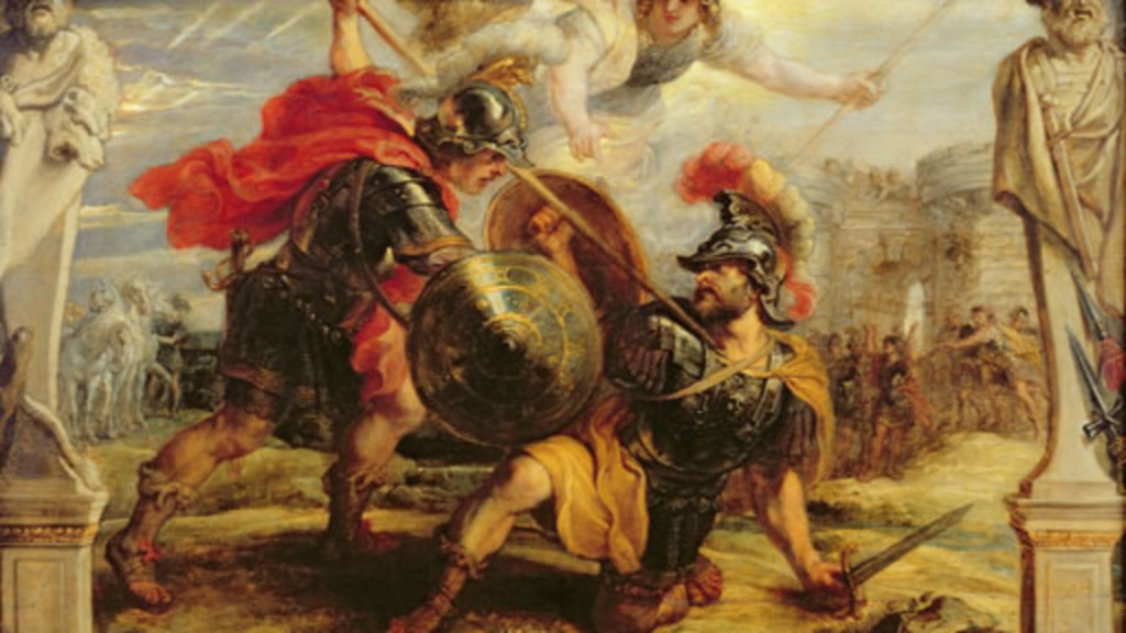 compare and contrast achilles and hector essay Greek mythology compare and contrast essay  when achilles killed hector, achilles tied hector's body to the back of his chariot and dragged hectors body behind it.